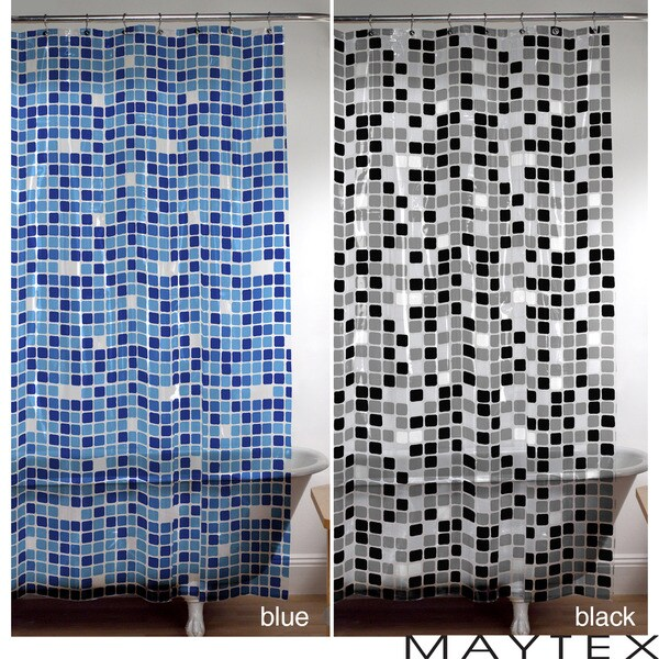 Maytex Tiles Shower Curtain