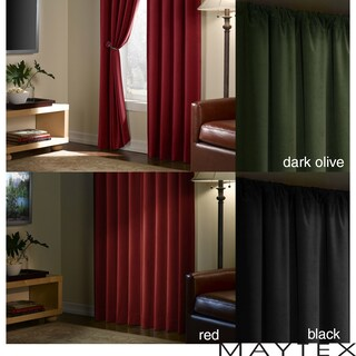 Velvet Blackout 84-inch Curtain Panel (2 options available)