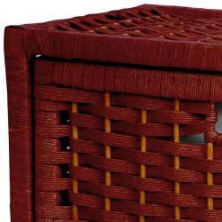 Natural Fiber 23-inch Chest of Drawers (China)