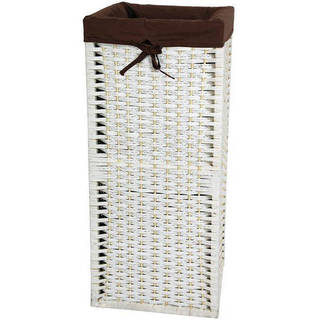 Handmade Natural Fiber 28-inch Laundry Hamper (China)