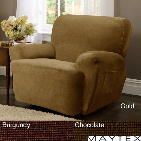 Carter Patented 4-piece Recliner Slipcover Set