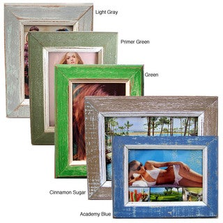 Recycled 5 x 7 Wood Picture Frame (Thailand) (More options available)