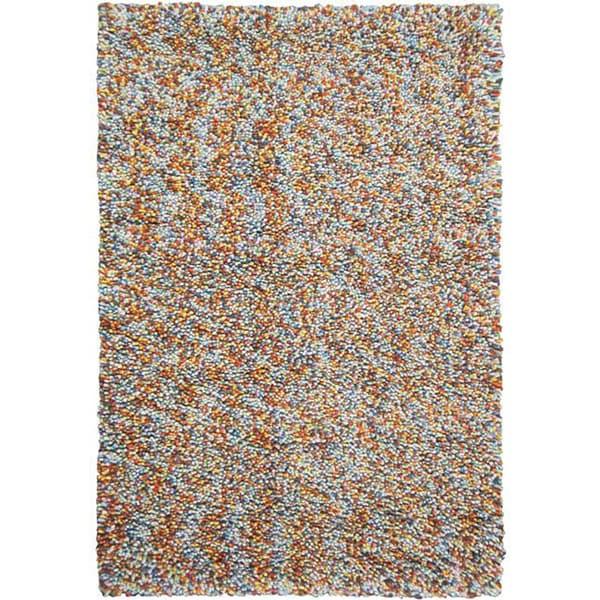 Shop Hand-tufted Pebble Multicolor Wool Rug (5' X 8