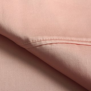 Superior 300 Thread Count Waterbed Deep Pocket Cotton Sateen Sheet Set (Option: Coral)