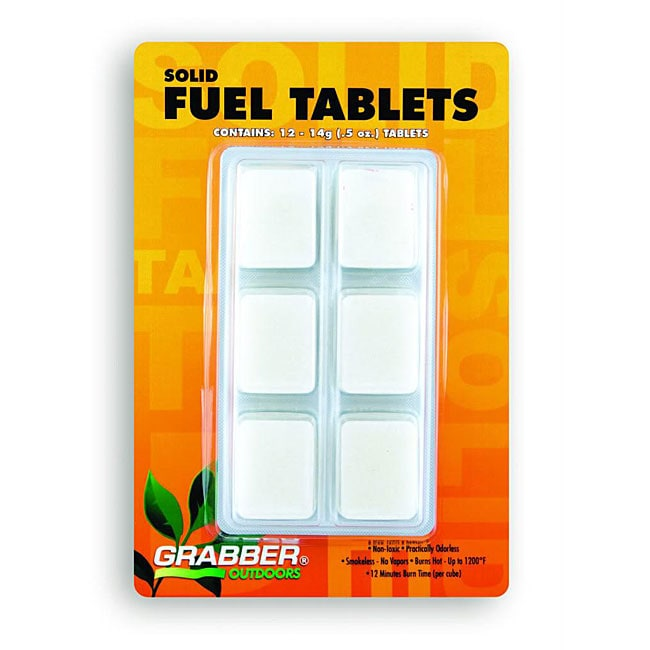 Solid Hexamine Fuel Tablets (Pack of 12)