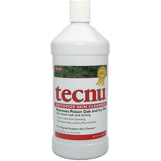 Tecnu 32-ounce Outdoor Skin Cleanser for Poison Ivy/Oak/Sumac Relief