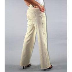 Institute Liberal Women's Six-Pocket Stretch Twill Bootcut Pants