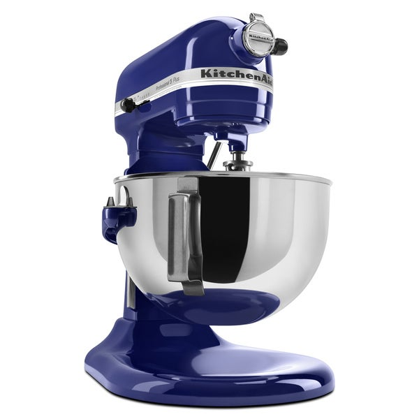 Shop Kitchenaid Kv25g0xbu Professional 5 Plus Cobalt Blue