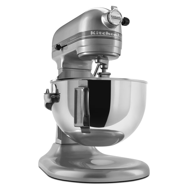 Shop Kitchenaid Kv25g0xmc Metallic Chrome 5 Quart Pro 5