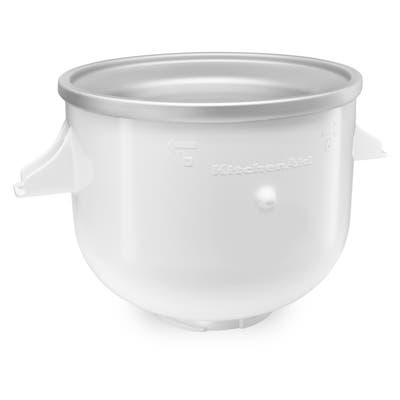 KitchenAid KICA0WH White Ice Cream Bowl Attachment