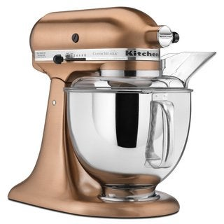 KitchenAid KSM152PSCP Satin Copper 5-quart Custom Metallic Tilt-Head Stand Mixer