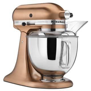 KitchenAid KSM152PSCP Satin Copper 5-quart Custom Metallic Tilt-Head Stand Mixer|https://ak1.ostkcdn.com/images/products/5094866/P12949485.jpg?impolicy=medium
