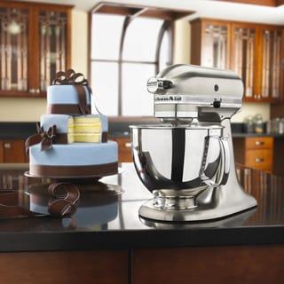 KitchenAid KSM152PSNK Brushed Nickel 5-quart Custom Metallic Tilt-Head Stand Mixer with $50 Rebate