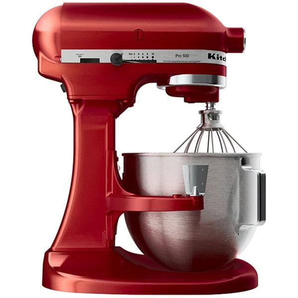 Shop Kitchenaid Rksm500er Empire Red Pro 500 5 Quart Mixer