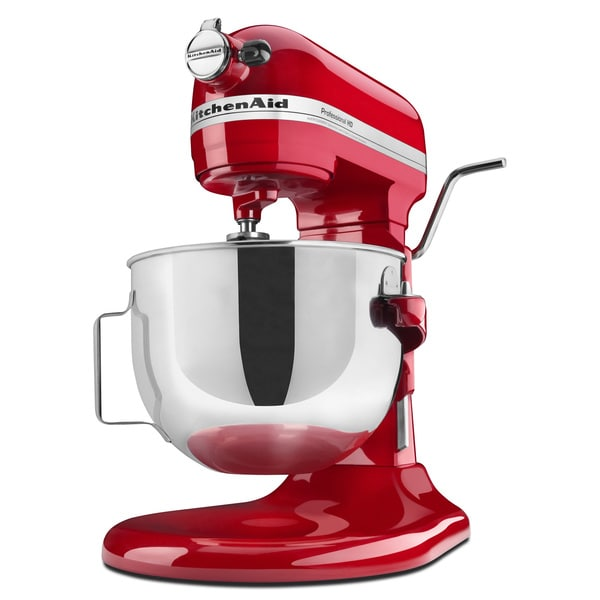 kitchenaid rkg25h0xer empire red 5 quart professional heavy duty mixer refurbished free. Black Bedroom Furniture Sets. Home Design Ideas