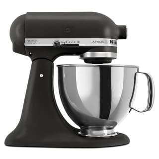 KitchenAid KSM150PSBK Imperial Black 5-quart Artisan Tilt-Head Stand Mixer with $30 Rebate
