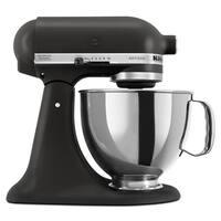 KitchenAid KSM150PSBK Imperial Black 5-quart Artisan Tilt-Head Stand Mixer