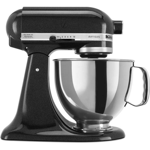 Shop Kitchenaid Ksm150pscv Caviar 5 Quart Artisan Tilt