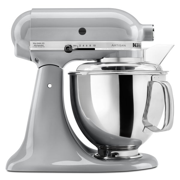 KitchenAid KSM150PSMC Metallic Chrome 5-quart Artisan Tilt-Head Stand Mixer