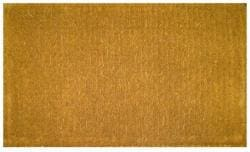 Plain Outdoor Coconut Fiber Extra-thick Door Mat (1'6 x 2'6) - Thumbnail 2