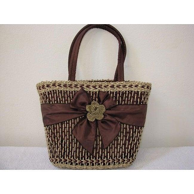 Handmade Agel Flower Ribbon Bag (Indonesia)