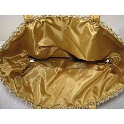 Handmade Natural Square Agel Handbag (Indonesia) - Thumbnail 2