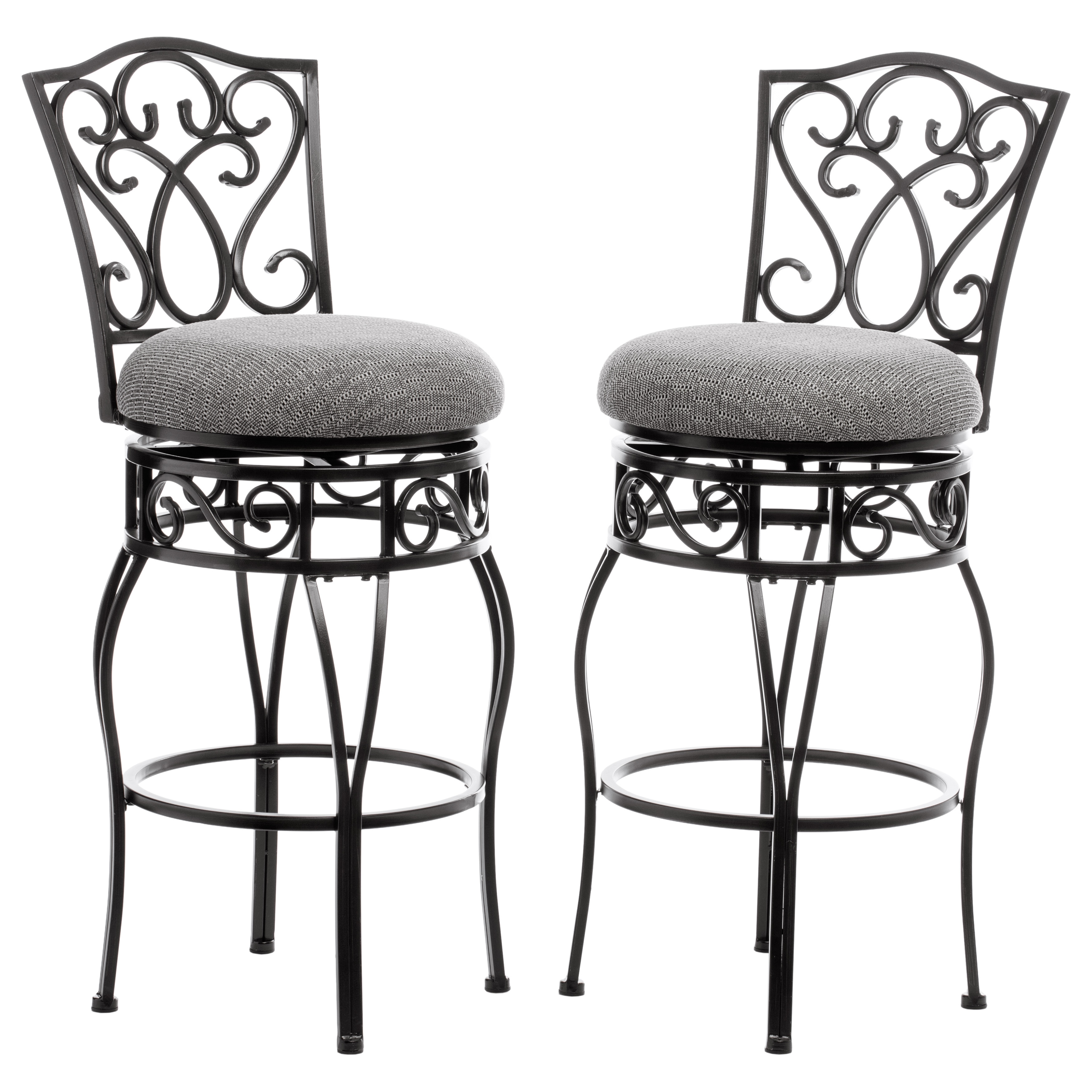 Pleasing Gracewood Hollow Chase 30 Inch Bar Stools Pack Of 2 Ibusinesslaw Wood Chair Design Ideas Ibusinesslaworg