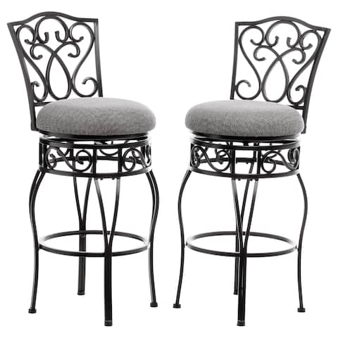 Gracewood Hollow Chase 30-inch Bar Stools (Pack of 2)