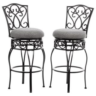 Buy Iron Counter Amp Bar Stools Online At Overstock Com