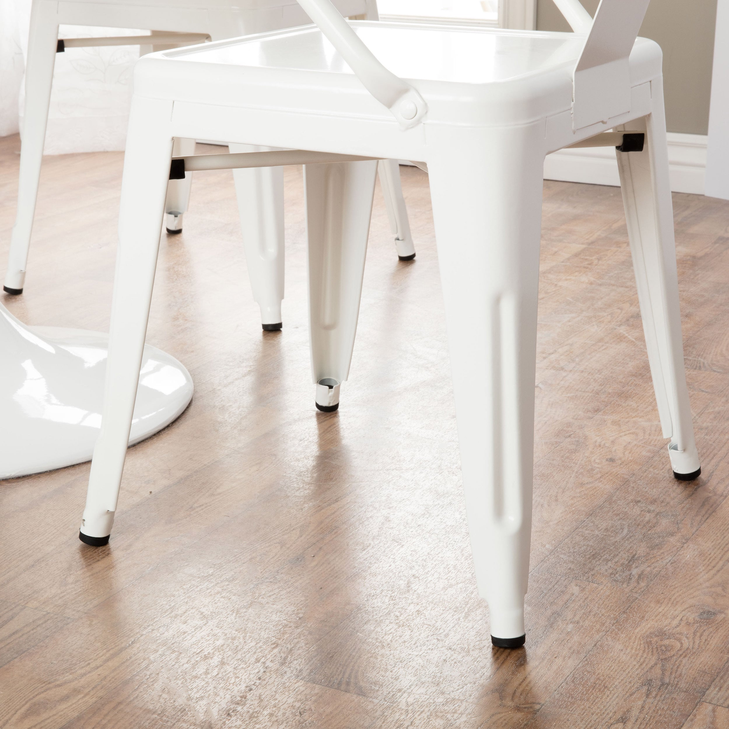 DETAILS. These Stacking Chairs Come In A White ...