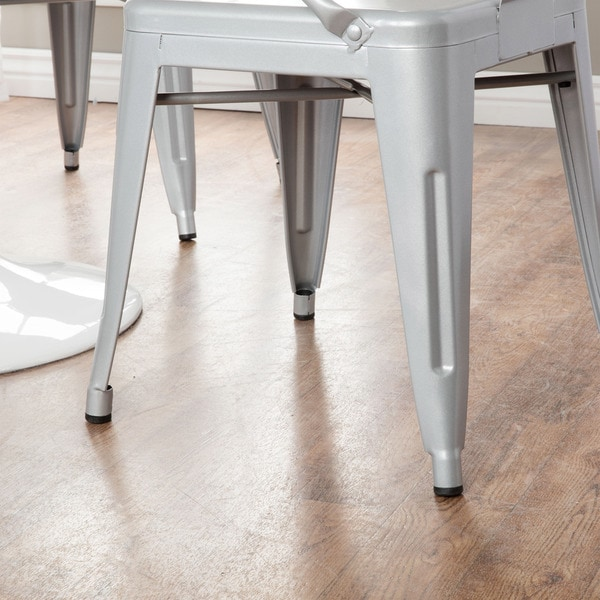 Silver Tabouret Stacking Chairs (Set Of 4) Free Shipping Today  Overstock.com 12950045