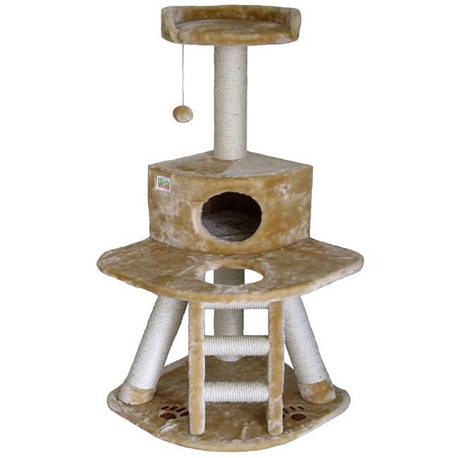 Go Pet Club 50-inch Condo Cat Tree