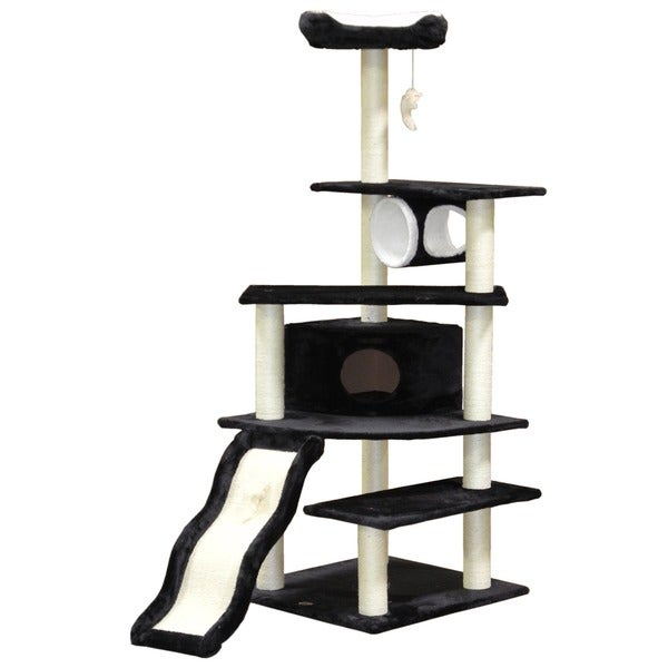 Go Pet Club 70-inch Condo Cat Tree