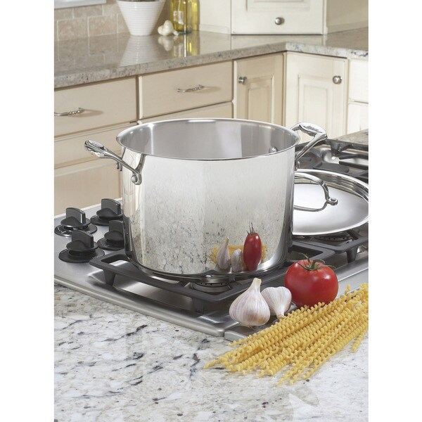 Shop Cuisinart Chefs Classic 8 Quart Stockpot With Cover