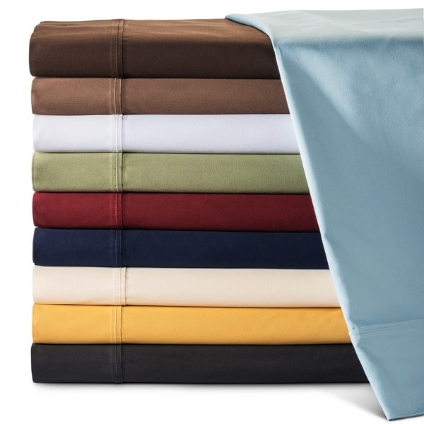 Superior Cotton 530 Thread Count Solid Deep Pocket Sheet Set