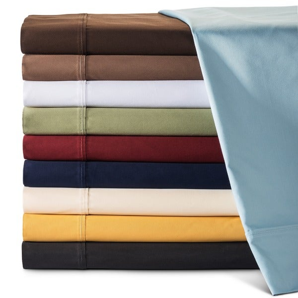 Superior 100-percent Premium Long-staple Combed Cotton 530 Thread Count Solid Deep Pocket Sheet Set