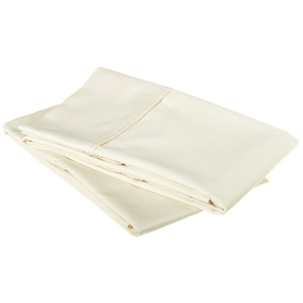 Superior 100-percent Premium Long-staple Combed Cotton 530 Thread Count Solid Pillowcase Set