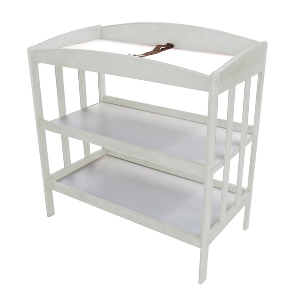 Shop White Wooden Changing Table Free Shipping Today