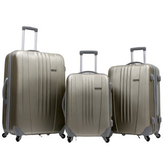 Traveler's Choice Toronto 3-piece Hardside Expandable Spinner Luggage Set