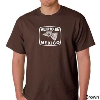 Los Angeles Pop Art Men's 'Hecho en Mexico' T-shirt