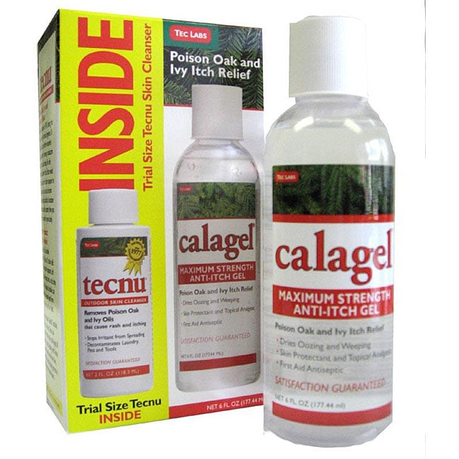 Calagel Anti-Itch Relief Gel 6-ounce Bottle