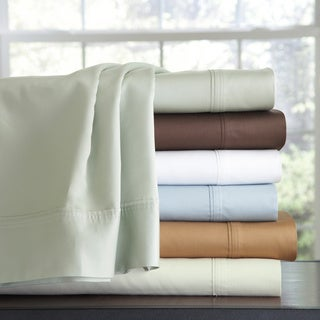 500 Thread Count 100 Percent Cotton Extra Deep Pocket Sheet Set or Pillowcase set (More options available)