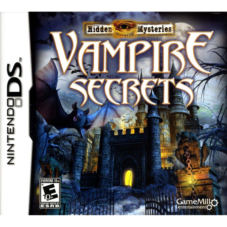 NinDS - Hidden Mysteries: Vampire Secrets by Game Mill