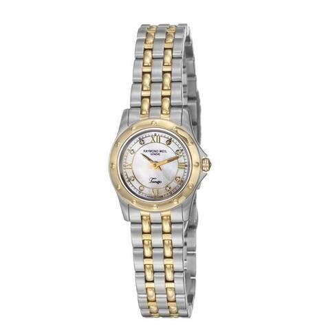 Raymond Weil Women's 'Tango' Two-tone Steel Quartz Diamond Watch