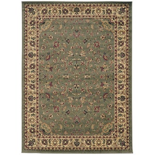 Admire Home Living Caroline Sarouk Emerlen Rug (3' 3 x 4' 11) (Option: Sage)