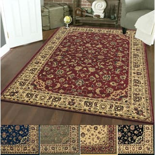 Caroline Sarouk Emerlen Rug - 7'9 x 11' (Option: Red)|https://ak1.ostkcdn.com/images/products/510117/P932351.jpg?impolicy=medium