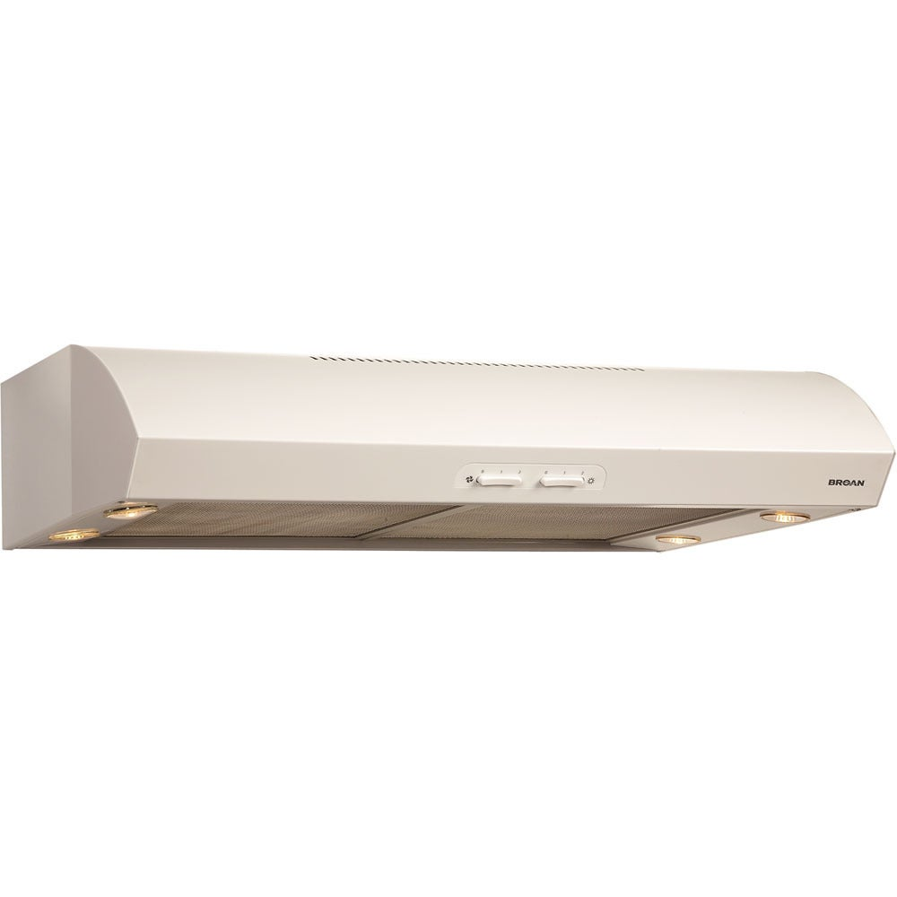 Broan  Evolution 1 Series White Under-cabinet Range Hood (Evolution QP130WW)