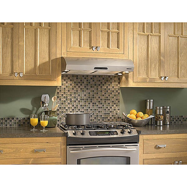 Broan Evolution 1 Series 30 Inch Stainless Steel Under Cabinet Range Hood
