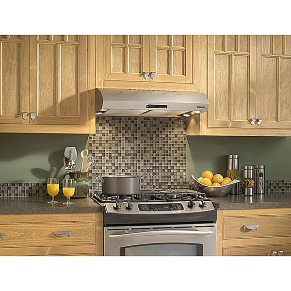 broan evolution 1 series 30-inch stainless steel under cabinet
