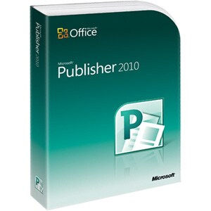 Microsoft Publisher 2010 - Complete Product - 1 PC